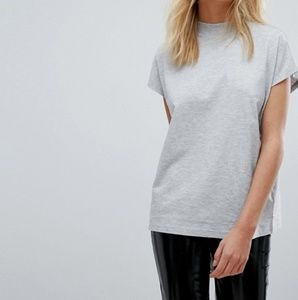 Weekday High Neck T-shirt  From ASOS